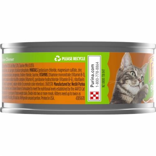Friskies Liver & Chicken Dinner Pate Wet Cat Food Perspective: left