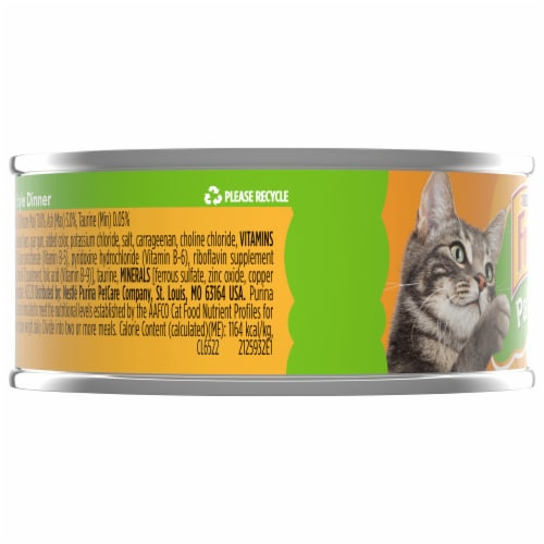 Friskies Pate Country Style Dinner Adult Wet Cat Food Perspective: left