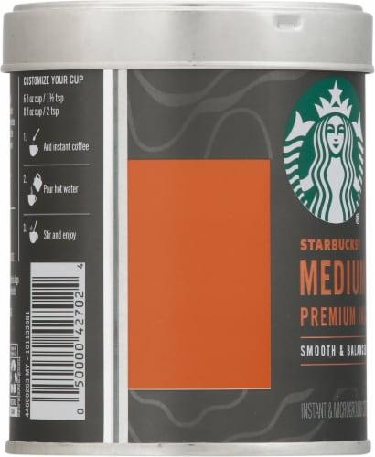 Starbucks Medium Roast Premium Instant Coffee Perspective: left