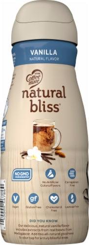 Coffee mate Natural Bliss Vanilla Almond Milk Liquid Coffee Creamer Perspective: left