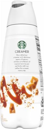 Starbucks Toffeenut Flavored Liquid Coffee Creamer Perspective: left