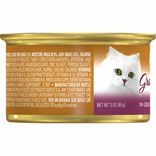 Fancy Feast Gravy Lovers Chicken Feast in Grilled Chicken Flavor Gravy Wet Cat Food Perspective: left
