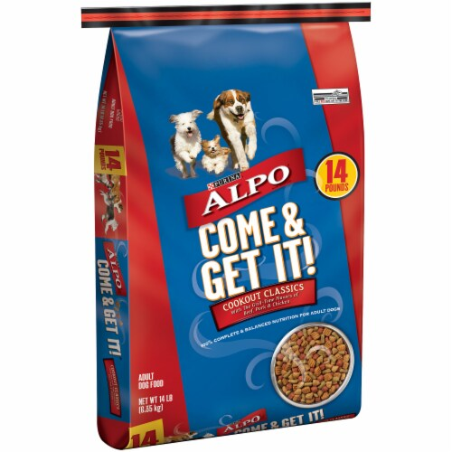 ALPO Come & Get It! Cookout Classics Dry Dog Food Perspective: left