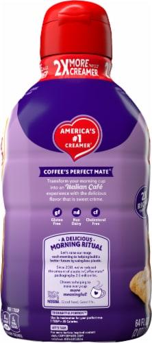 Coffee-mate® Italian Sweet Creme Liquid Coffee Creamer Perspective: left