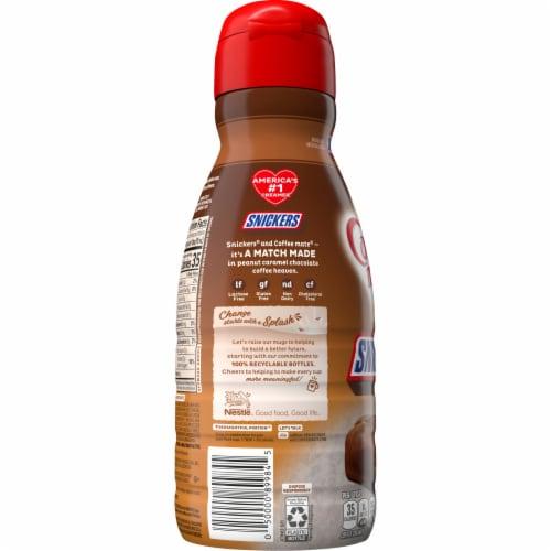 Nestle Coffee mate Snickers Liquid Coffee Creamer Perspective: left