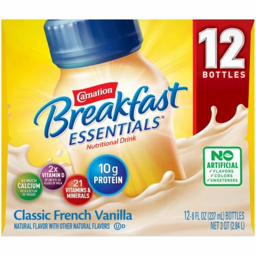 Carnation Breakfast Essentials Vanilla Nutritional Drink Perspective: left