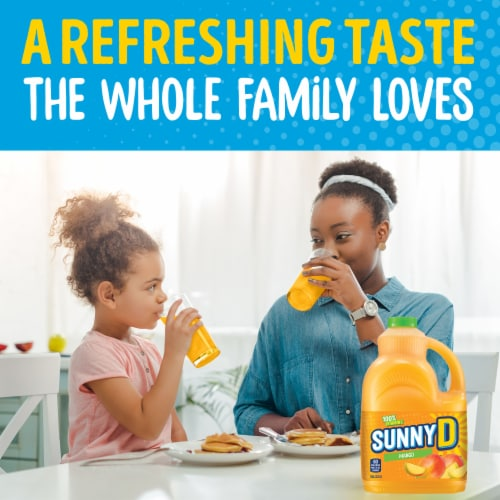SunnyD Mango Fruit Drink Perspective: left
