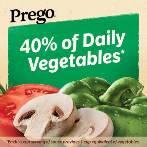 Prego Chunky Garden Mushroom & Green Pepper Italian Pasta Sauce Perspective: left