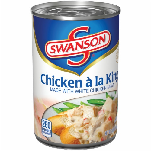 Swanson Chicken a La King Perspective: left