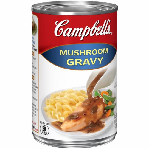 Campbell's Mushroom Gravy Perspective: left
