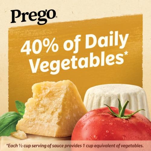 Prego Three Cheese Italian Sauce Perspective: left