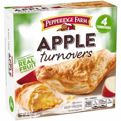 Pepperidge Farm Apple Turnovers 4 Count Perspective: left