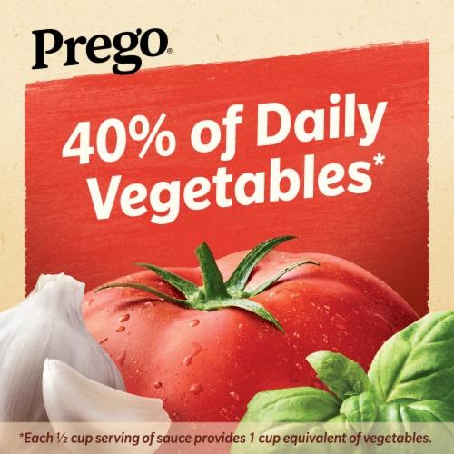 Prego Tomato Basil Garlic Italian Pasta Sauce Perspective: left