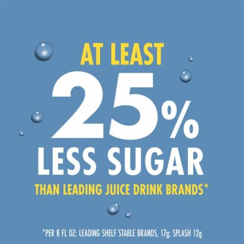 V8 Splash Fruit Medley Juice Perspective: left