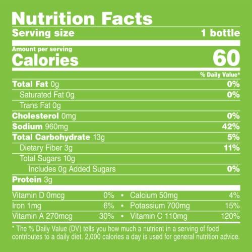 V8 Original 100% Vegetable Juice Perspective: left
