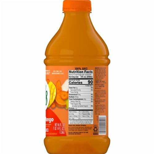 V8 V-Fusion Peach Mango Juice Perspective: left