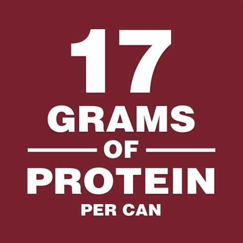 Campbell's Chunky Sirloin Burger with Country Vegetables Soup Perspective: left