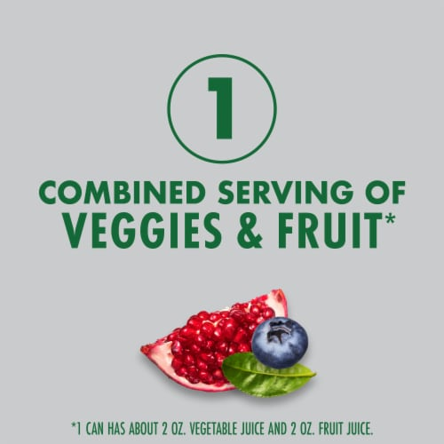V8 +Energy Pomegranate Blueberry Juice Perspective: left