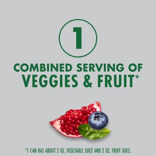 V8 +Energy Pomegranate Blueberry Juice Perspective: left