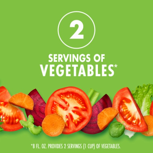 V8 Spicy Hot Vegetable Juice Perspective: left