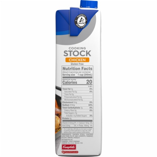 Swanson Chicken Stock Perspective: left