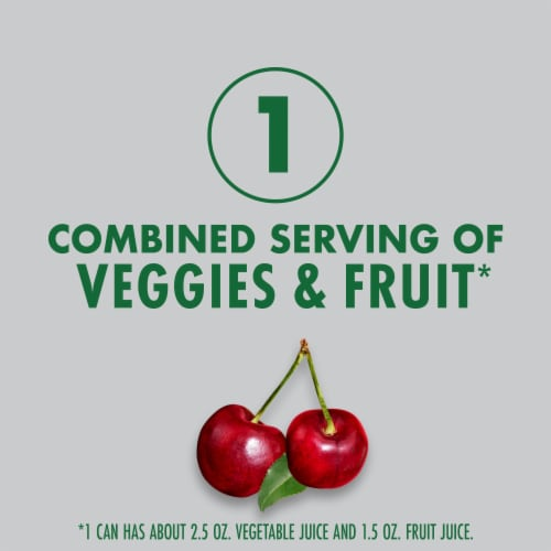 V8 +Energy Black Cherry Beverage Perspective: left