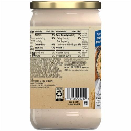Prego® Homestyle Alfredo Sauce Perspective: left