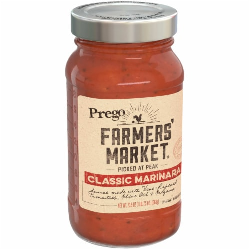 Prego Farmers' Market Classic Marinara Pasta Sauce Perspective: left