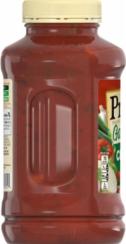 Prego Garden Chunky Combo Italian Sauce Perspective: left