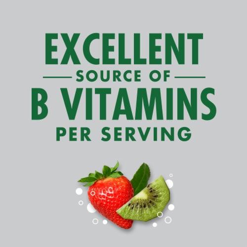V8 Strawberry Kiwi +EnergyPlant-Based Energy Beverage Perspective: left