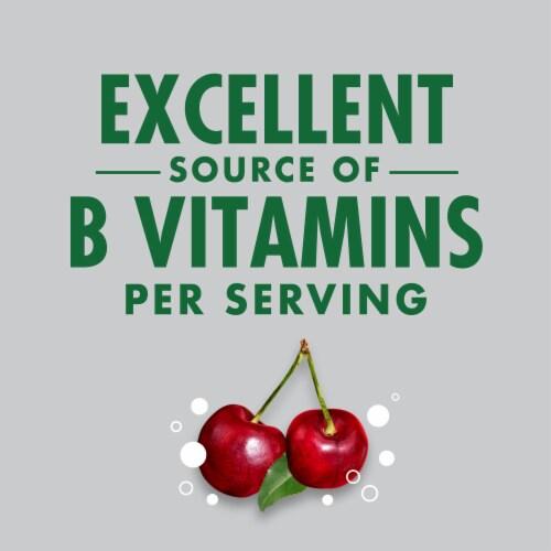 V8 +Energy Black Cherry Sparkling Energy Drink Perspective: left