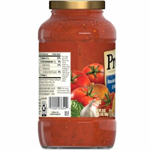 Prego Plus Super Hidden Veggies Roasted Garlic & Herb Flavored Pasta Sauce Perspective: left