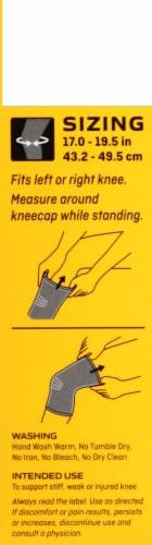 Futuro Large Knee Comfort Support Perspective: left