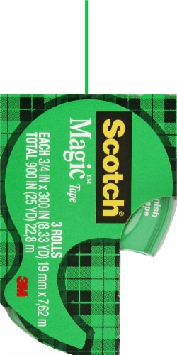 Scotch® Magic Tape Perspective: left