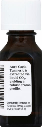 Aura Cacia Turmeric CO2 Extract Perspective: left
