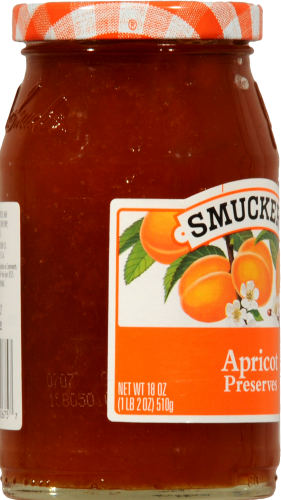 Smucker's Apricot Preserves Perspective: left