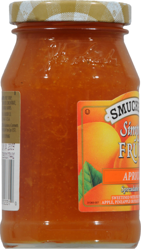 Smucker's Simply Fruit Apricot Spread Perspective: left