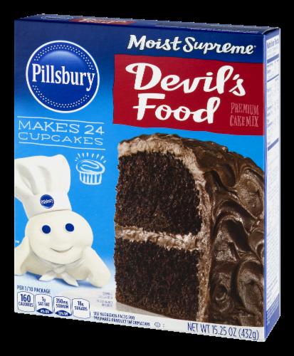 Pillsbury Moist Supreme Devil's Food Cake Mix Perspective: left