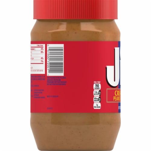 Jif Creamy Peanut Butter Perspective: left