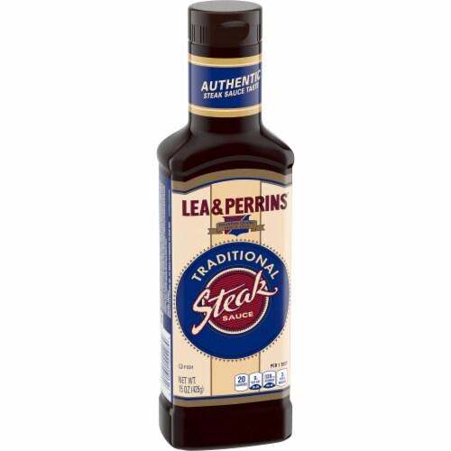 Lea & Perrins Traditional Steak Sauce Perspective: left