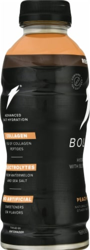 Bolt24 Peach Mango Hydration with Electrolytes Perspective: left