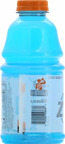 Gatorade Zero Sugar Thrist Quencher Cool Blue Sports Drink Perspective: left