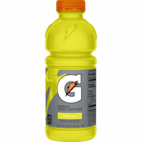 Gatorade Thirst Quencher Lemon Lime Sports Drink Perspective: left