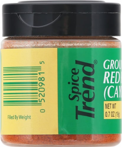 Spice Trend Ground Red Pepper Perspective: left
