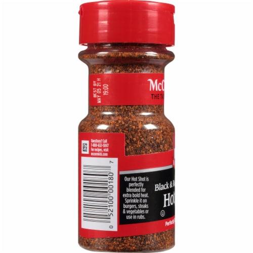 McCormick Hot Shot Black & Red Pepper Blend Shaker Perspective: left