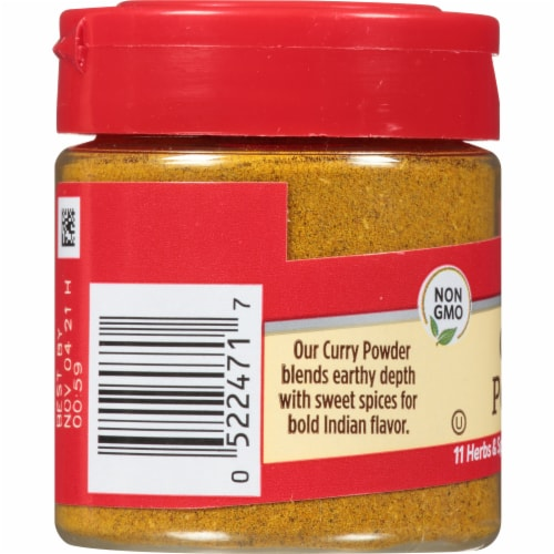 McCormick Curry Powder Perspective: left