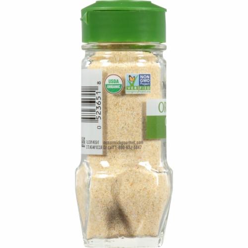 McCormick Gourmet Organic Onion Powder Shaker Perspective: left