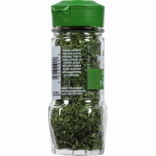 McCormick Gourmet All Natural Flat Leaf Parsley Shaker Perspective: left