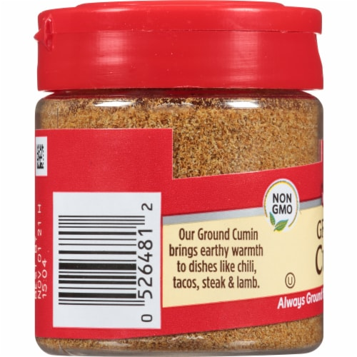 McCormick Ground Cumin Shaker Perspective: left