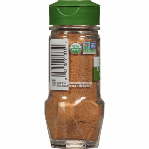 McCormick Gourmet All Natural Roasted Ground Coriander Shaker Perspective: left